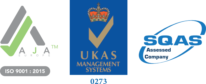 Certifications - International Freight Forwarding - ISO 9001:2015 and SQAS